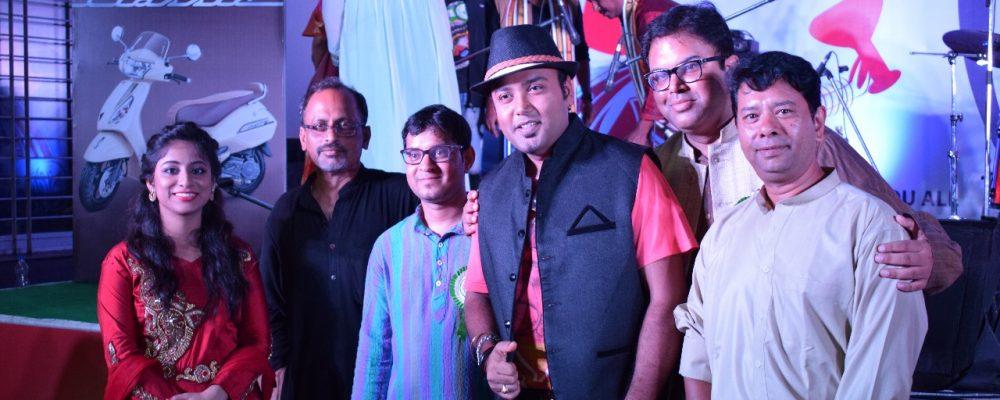 Biplab (Zee Saregama) performs at our Durga Puja in Bangalore