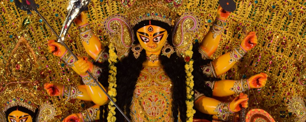 Barsha Durga Puja Idol